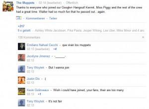 Muppets hangout