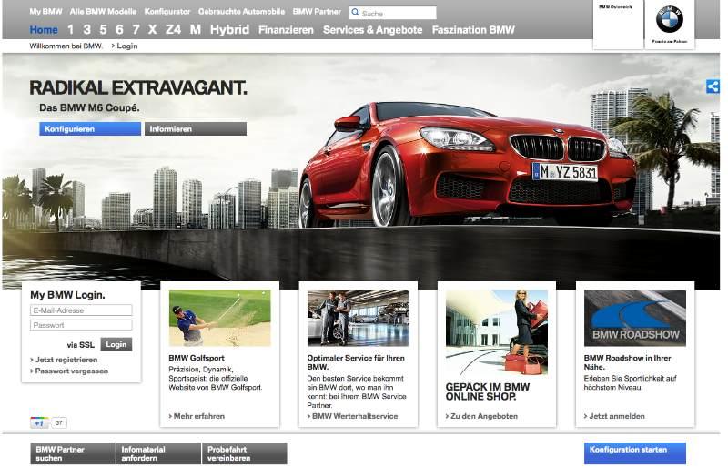 BMW Relaunch Österreich